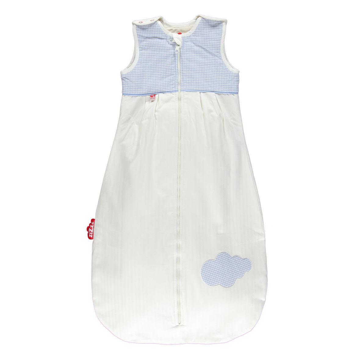 babyschlafsack swisswool von zizzz, blau, 6 24 monate
