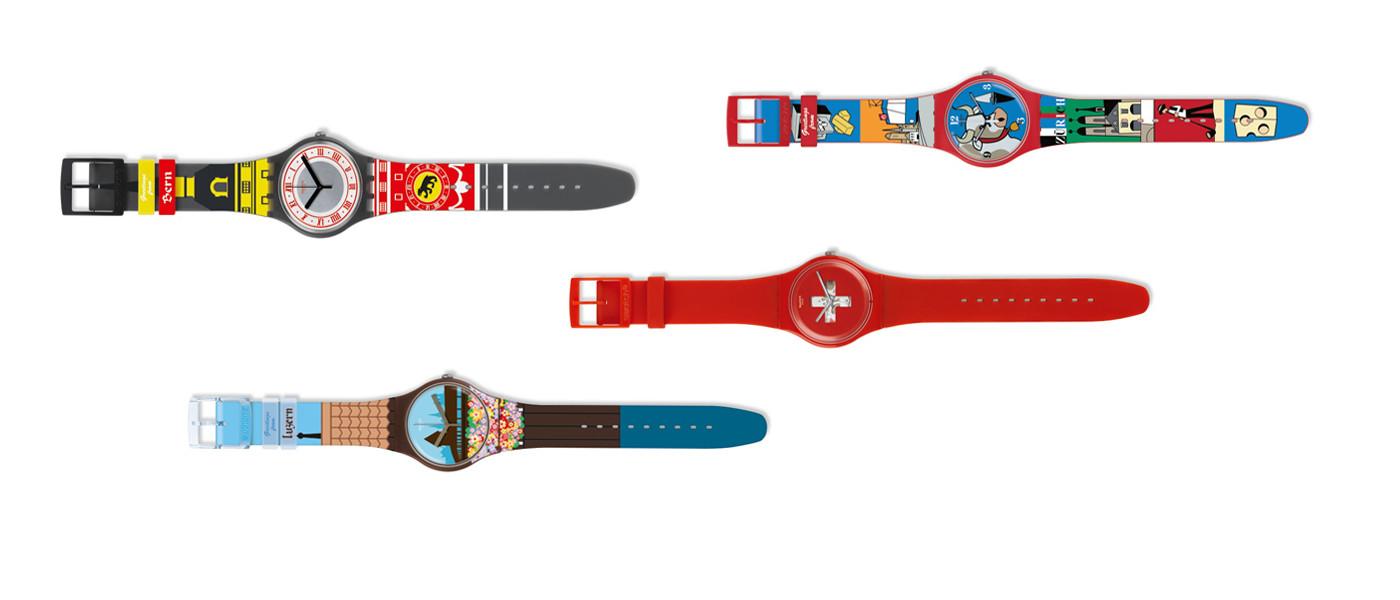 Swissness Swatch Uhren