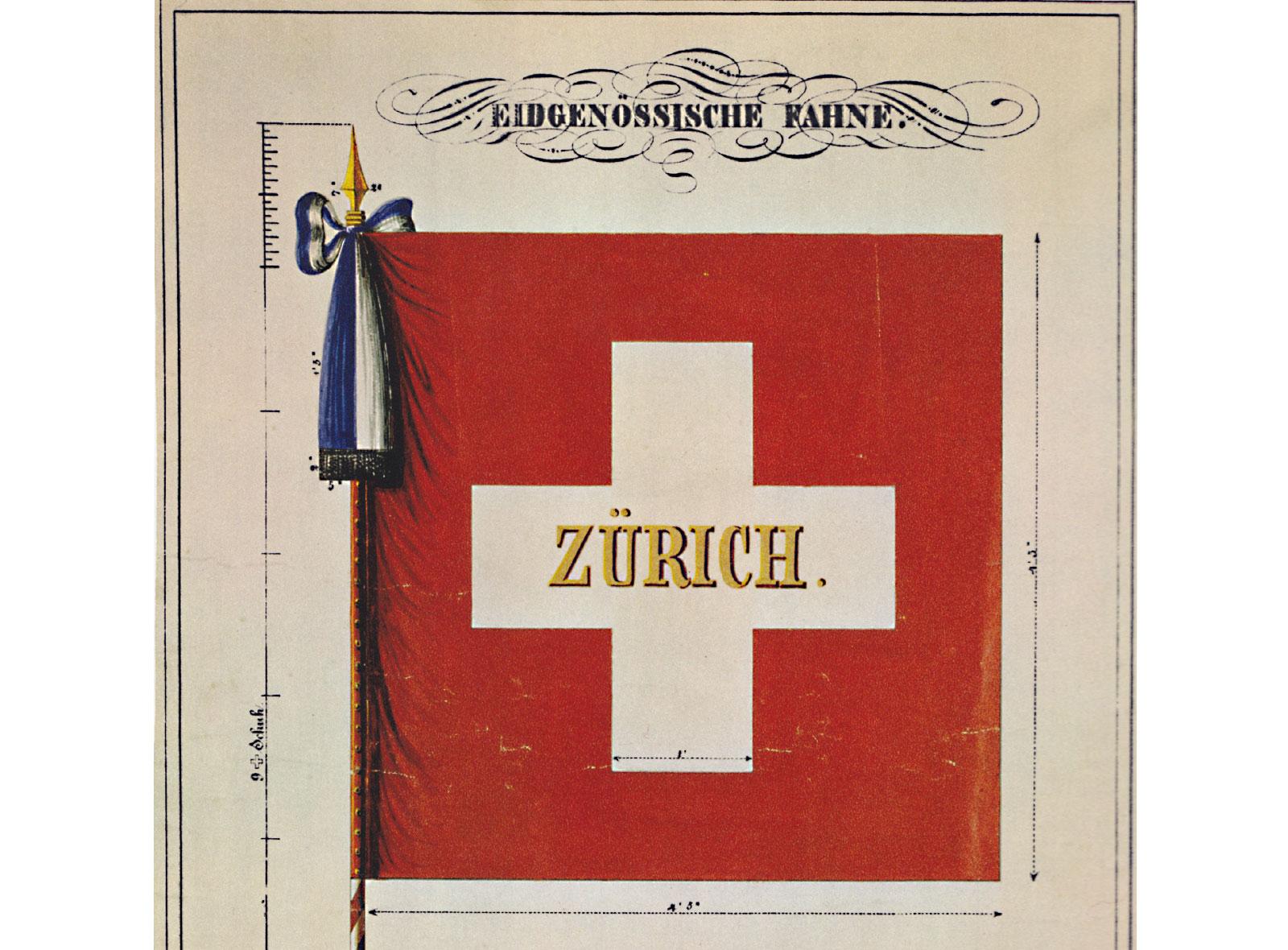 Schweizerfahne 1840