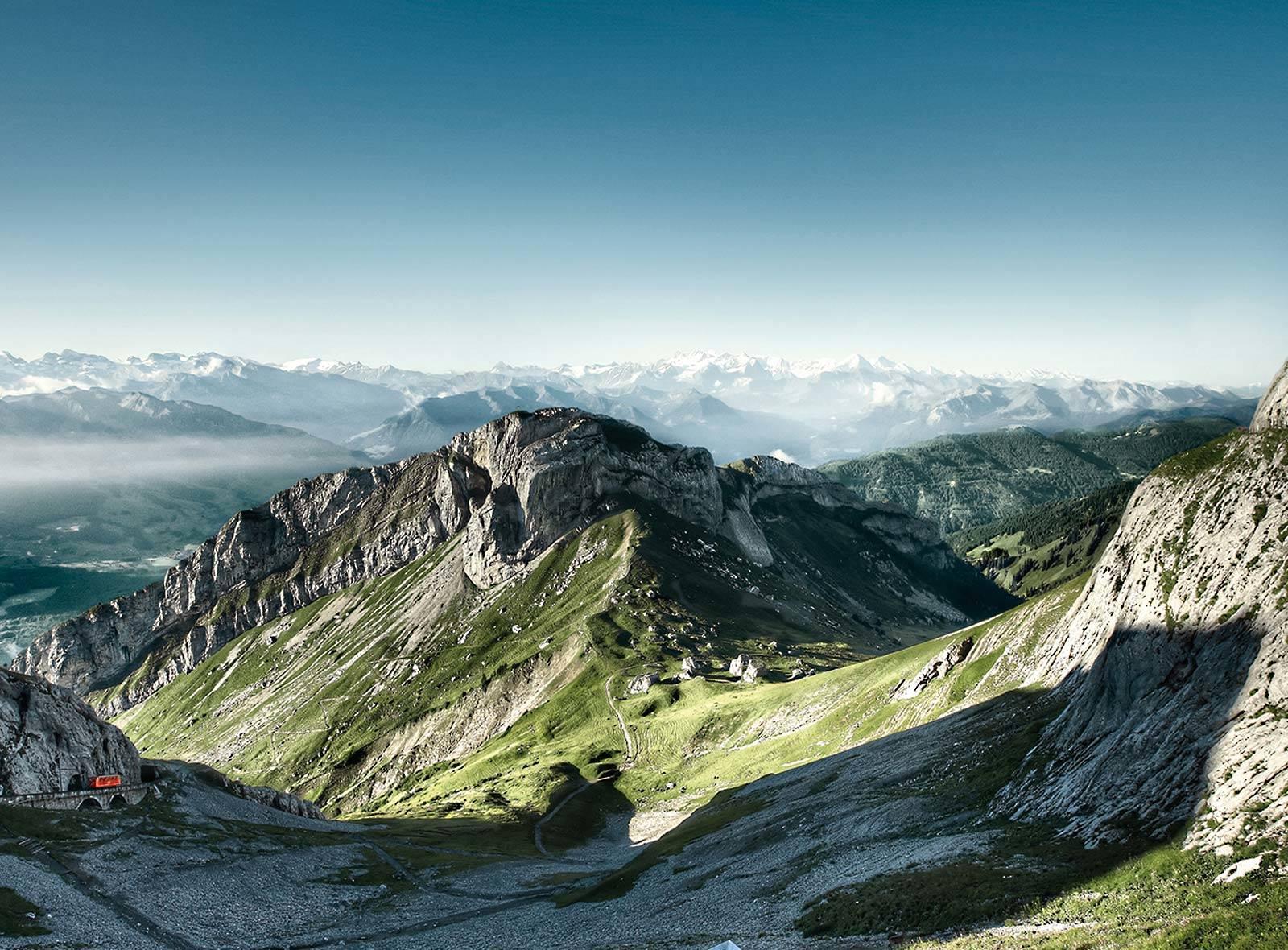 Schweizer Berge und Seen: Pilatus