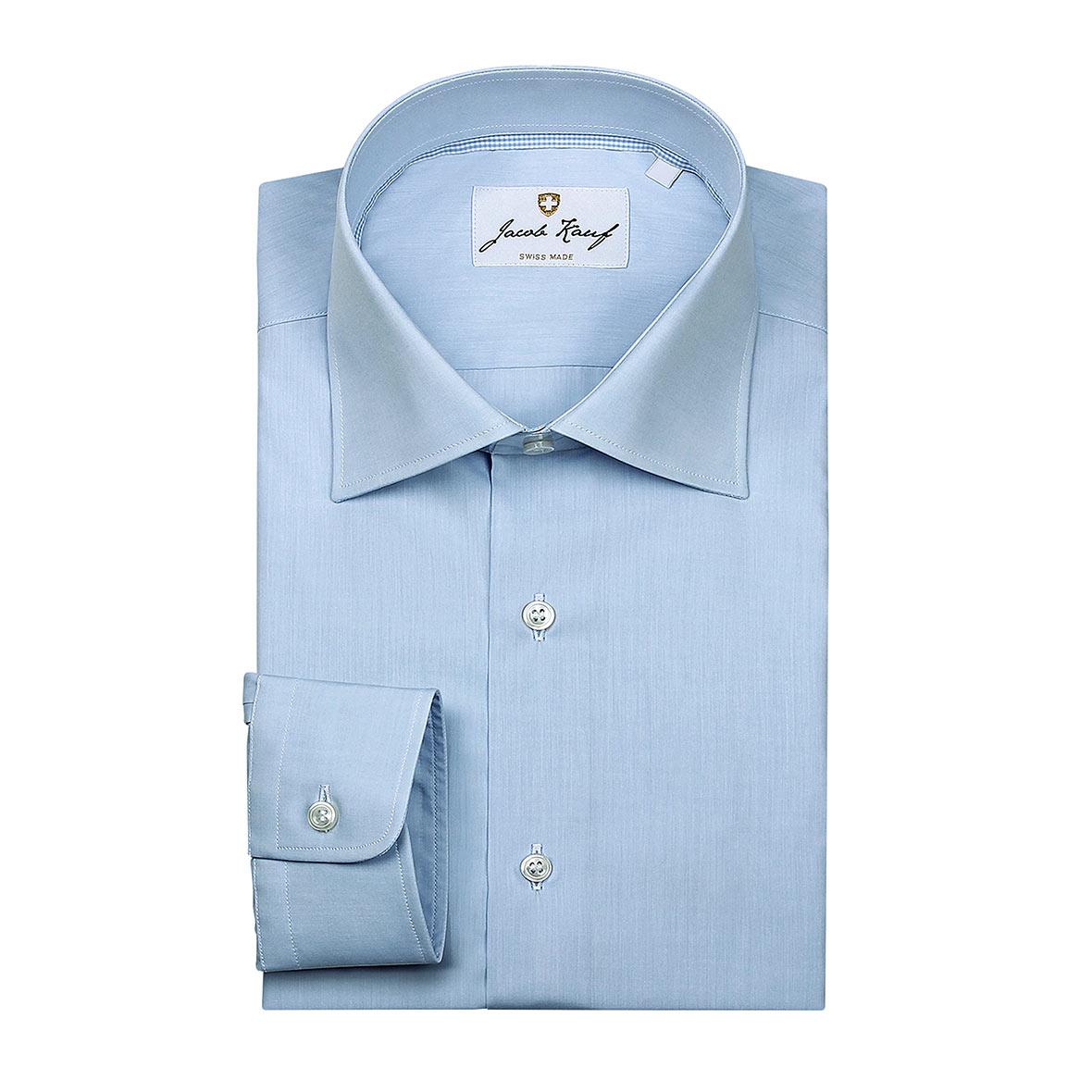 schweizer hemd jacob kauf, blau