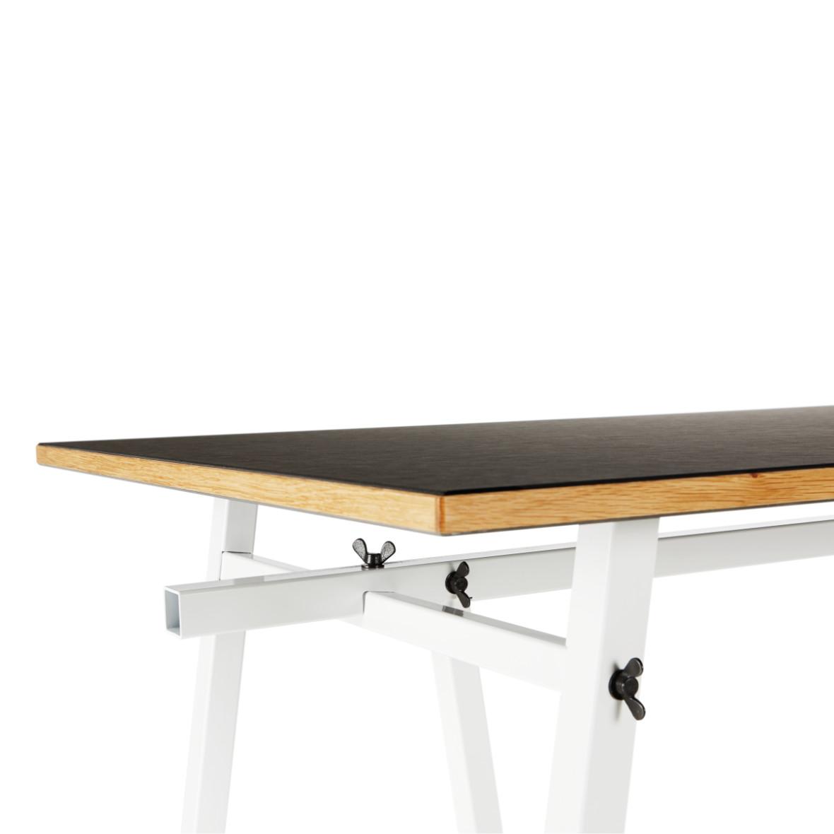 ateliertisch embru schwarz weiss platte – für den idealen arbeitsplatz