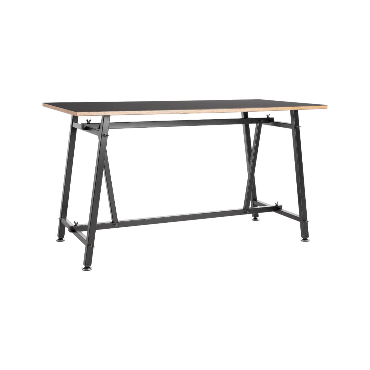 ateliertisch modell 4030 schwarz von embru