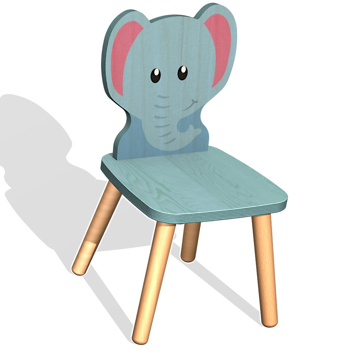 kinderstuhl elefant von weizenkorn