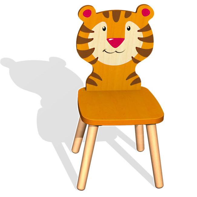 kinderstuhl tiger von weizenkorn