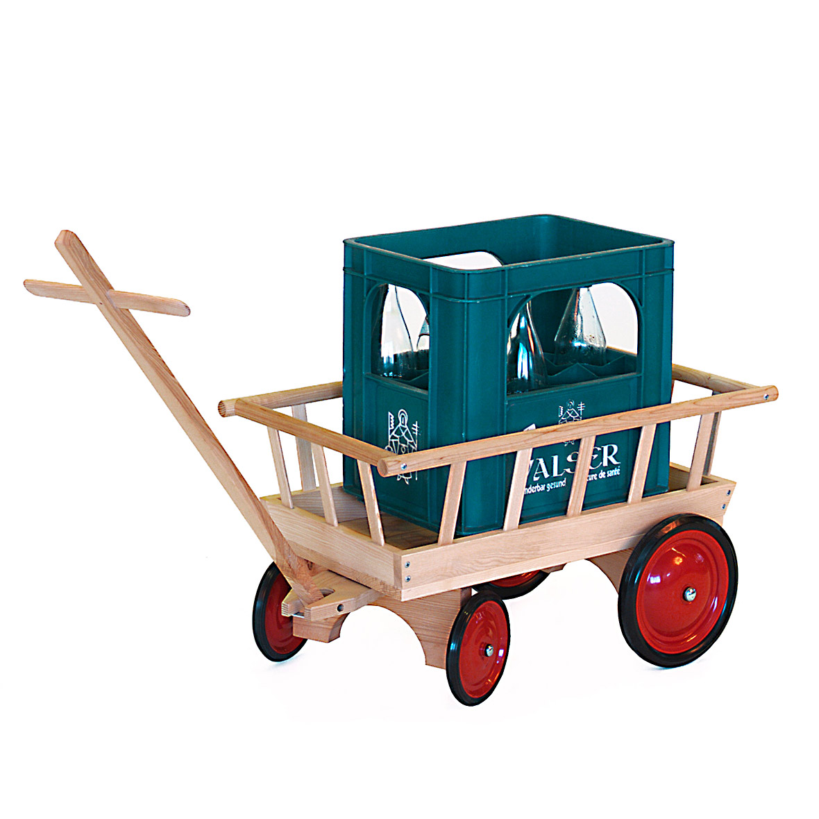 leiterwagen klein für kinder von contact arbeit holz + textil