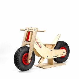 swiss walking bike harleykin, ahorn holz und spiel
