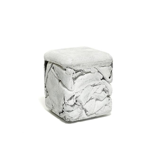 hocker trash cube von eternit