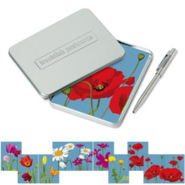 freshfish postcard box power flowers