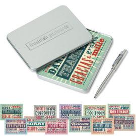 freshfish postcard box danke & co