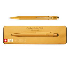 kugelschreiber 849 goldbar extraflachs etui gold