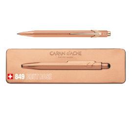 kugelschreiber 849 brut rosé extraflaches etui rosa gold