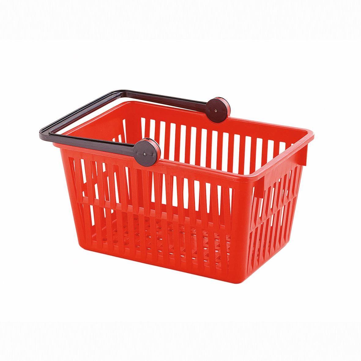 einkaufskorb farbe rot von stöckli