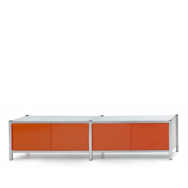 lowboard orange von mf system