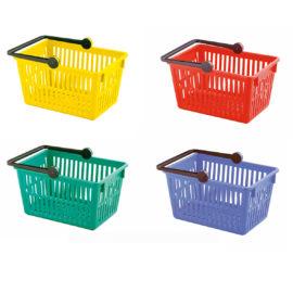farbige einkaufskörbe von stöckli