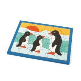puzzle pinguine mit 30 teilen von weizenkorn