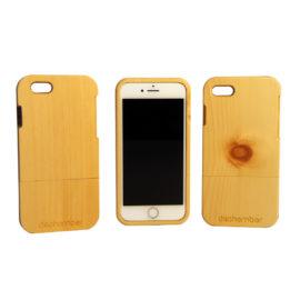 iphone 7 und 8 hülle aus arvenholz von dschember