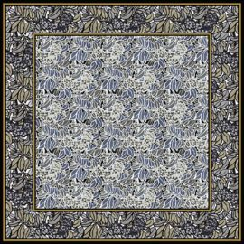 foulard tuileries 160 x 160 cm von nathalie pellon