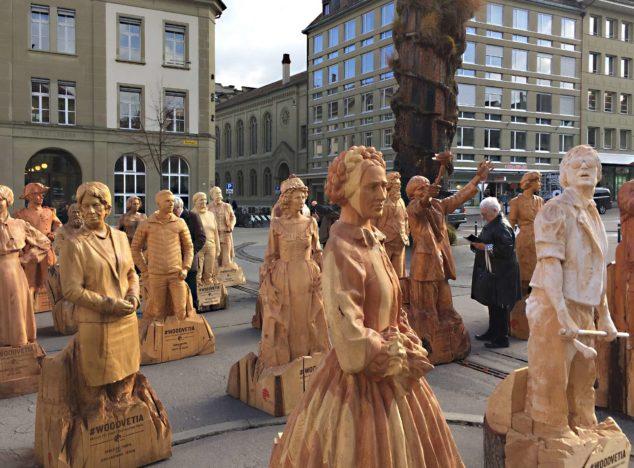 """Woodvetia – Aktion für mehr Schweizer Holz"""" gab 2017"""