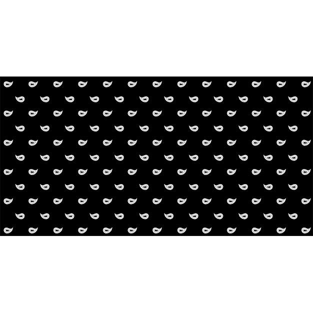 glarner tüechli paisley motiv farbe schwarz