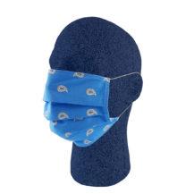 schutzmasken blau paisley muster glarner tuechli