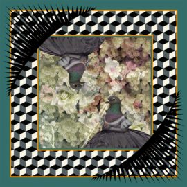 foulard cendrillon carre nathalie pellon