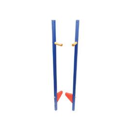 stelzen lang blau 147 cm mood atelier passage