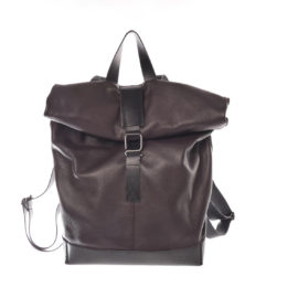 rucksack roll up marrone adria mood kleinbasel