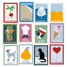 postkarten nonsensies freshfish