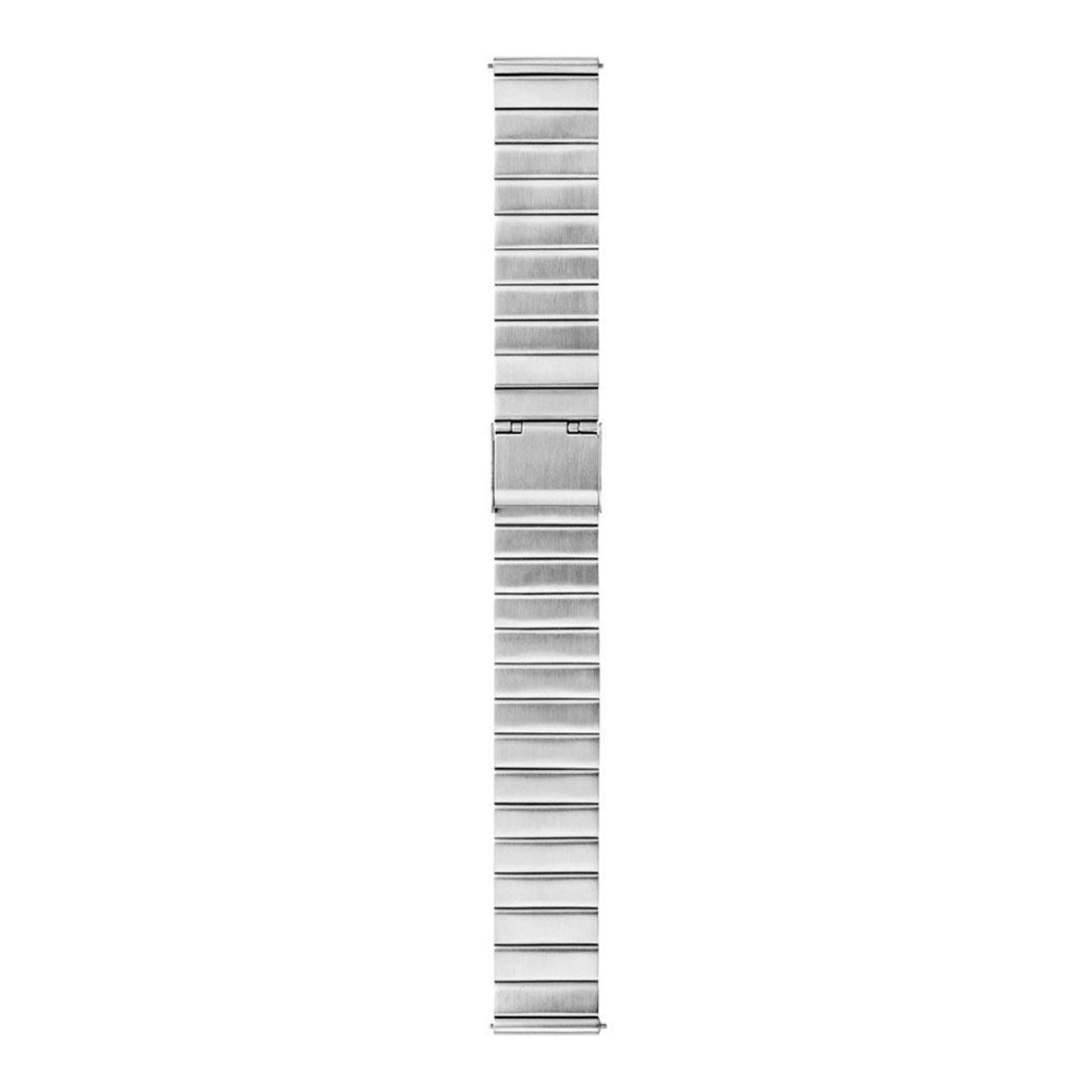 armbanduhr classic silber armband mondaine