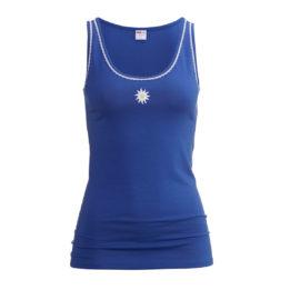 tank top blau edelweiss isa bodywear