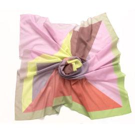 foulard juxtapose bloom lemon cotton mood souze