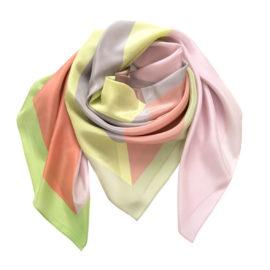 foulard juxtapose bloom lemon silk mood souze